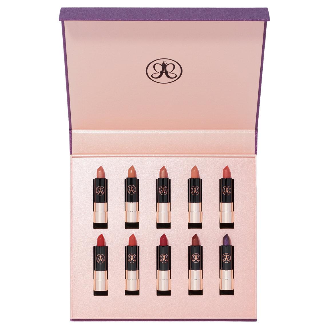 10 mini Anastasia Beverly Hills Matte Lipsticks in new shades (a $75 value)