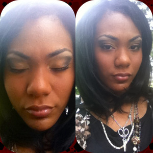 Something I decided to do for a job interview. I don't use concealer for my eyebrows. I simply use shadows.