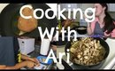 Cooking With Ari! Chicken Alfredo