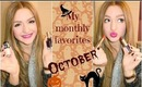 MY OCTOBER FAVORITES: MAKEUP, BEAUTY, FASHION AND MORE!