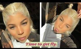 GRWM | $60 Aliexpress Human hair wig install (Everyday Makeup)