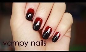 Vampy nails for fall