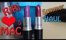 RiRi Hearts MAC Summer Collection Haul