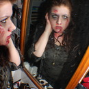 My First Halloween Look EVER! Glamour Zombie