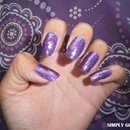 "NOTD: KleanColor ""Neon Purple"" + Sinful Colors ""Frenzy"""