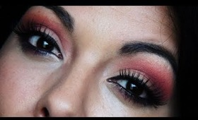 Burnt Peach : Summer Eyeshadow Tutorial (cut crease) w/ BH Cosmetics 120 Colors Palette