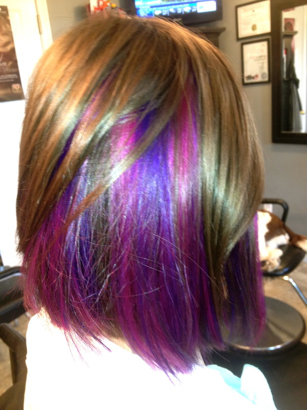 Some Peek A Boo Purple Katie G S Photo Beautylish