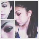 Cut crease and French braid.