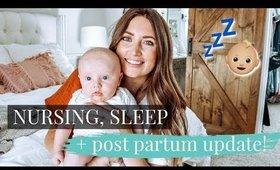 12 WEEK BABY UPDATE! NURSING, SLEEP ROUTINE & POST PARTUM   Kendra Atkins