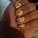 ombre yellow and pink