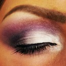 Purple Dramatic Smokey Eye