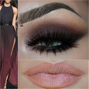smokey eye warm