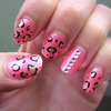 Glam Leopard Nails