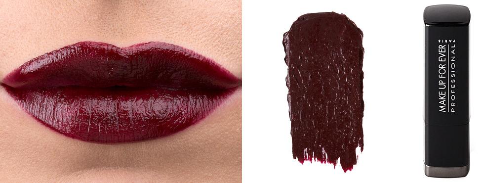Vamp It Up The Burgundy Lipstick Review  Beautylish-6251