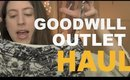 GOODWILL OUTLET HAUL | Vintage, 90s, Levi's and more (for reselling & personal picks!)