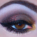 Bronze & Gold Smokey Eye