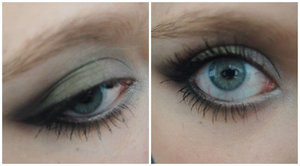 I created this look to represent both District 12 and the Dauntless faction the day I saw both of the movies!