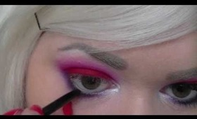 Roxy Rouge - Bright Sugarpill Valentines Day Makeup Tutorial