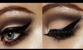 Glitter Edge Soft Cut Crease Makeup Tutorial | Liv H
