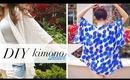 DIY Kimono Shawl - Music Festival & Beach Coverup