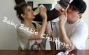 Baby Bottle Challenge : Husband VS Wife