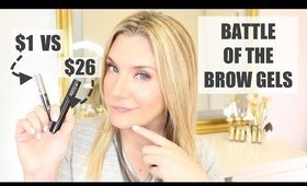BEST BROW GEL? LANCOME SOURCILS STYLER vs AOA Studio Go BROW