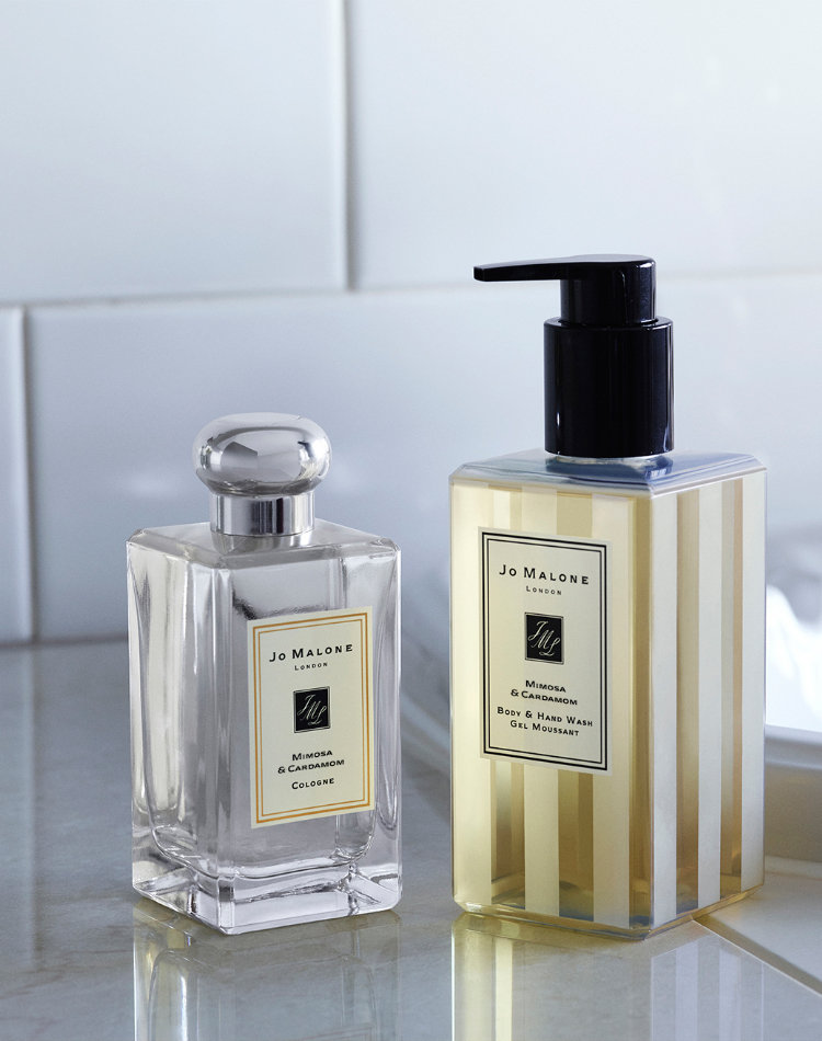 Alternate product image for Mimosa & Cardamom Body & Hand Wash shown with the description.