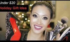 A MUST!  Under $20 Holiday Gift Idea (Brush Holder & Candle Display)