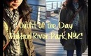 Outfit of the Day: Hudson River Park NYC