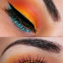 Fun Bright Colorful Look