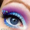 Sparkly Blue Flower :)