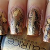 Middle Ages inspired manicure