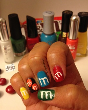 Who doesn't love M&Ms?