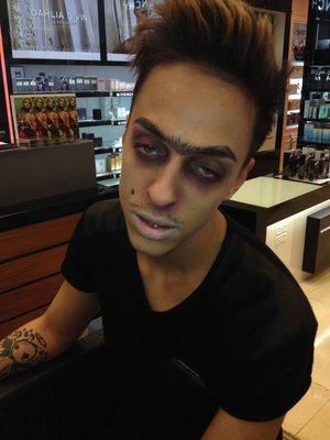 Its me playing with Makeup ehehehehehehe..