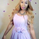 Romantic Valentine | Valentine's Day ♥ Pop of Pink | Makeup, Hair & Outfit | COMPLETE LOOK
