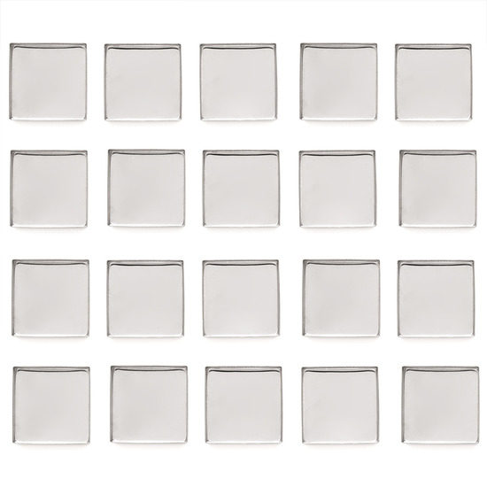 Z•Palette Empty Metal Pans 20 Pack - Square product smear.