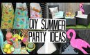 DIY Summer Party Ideas - Easy & Affordable!