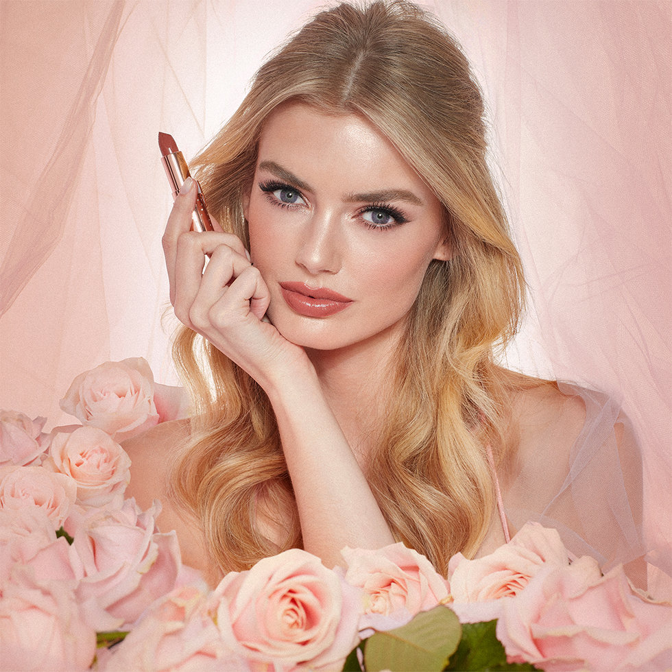 Charlotte Tilbury Look of Love Collection Model