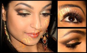 NYE Glitter Look!