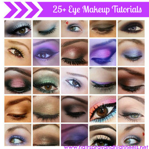 Sharing the best of the best in the blogging and youtube community when it comes to eye makeup! On the blog today http://www.hairsprayandhighheels.net/2013/02/25-eye-makeup-tutorials.html