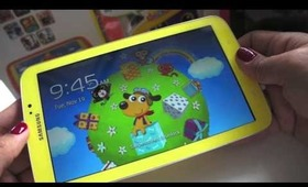 Mommy Samsung Galaxy Tab3 Kids tablet review