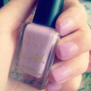 Lilac nail paint , perfect summer colour!