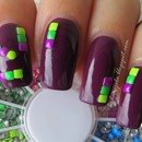 Born Pretty Store 2mm fluorescent studs review
