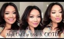 Quick & Easy Night Out Eye Look + OOTD | missilenejoy