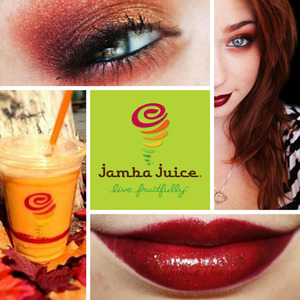 Inspired by Jamba Juice's Holiday Themed Smoothie!