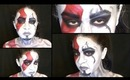 God of War: Kratos Inspired Makeup and Body Paint Tutorial