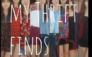 My Thrift finds + styling ^-^