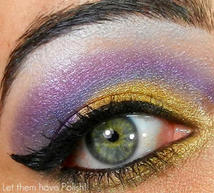 I am SO IN LOVE with Sugarpill's Hysteric. Goldilux is on a league of it's own!