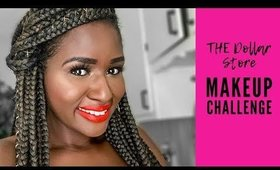 The Dollar Store Makeup Challenge