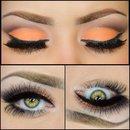 Day 6 Peach makeup